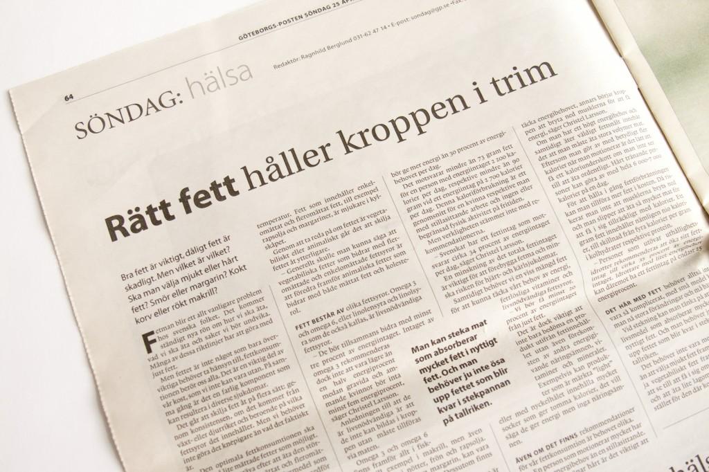 Göteborgsposten Fett