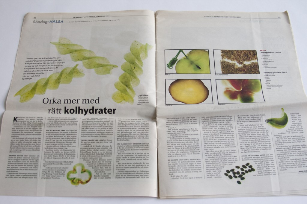 Göteborgsposten Kolhydrater