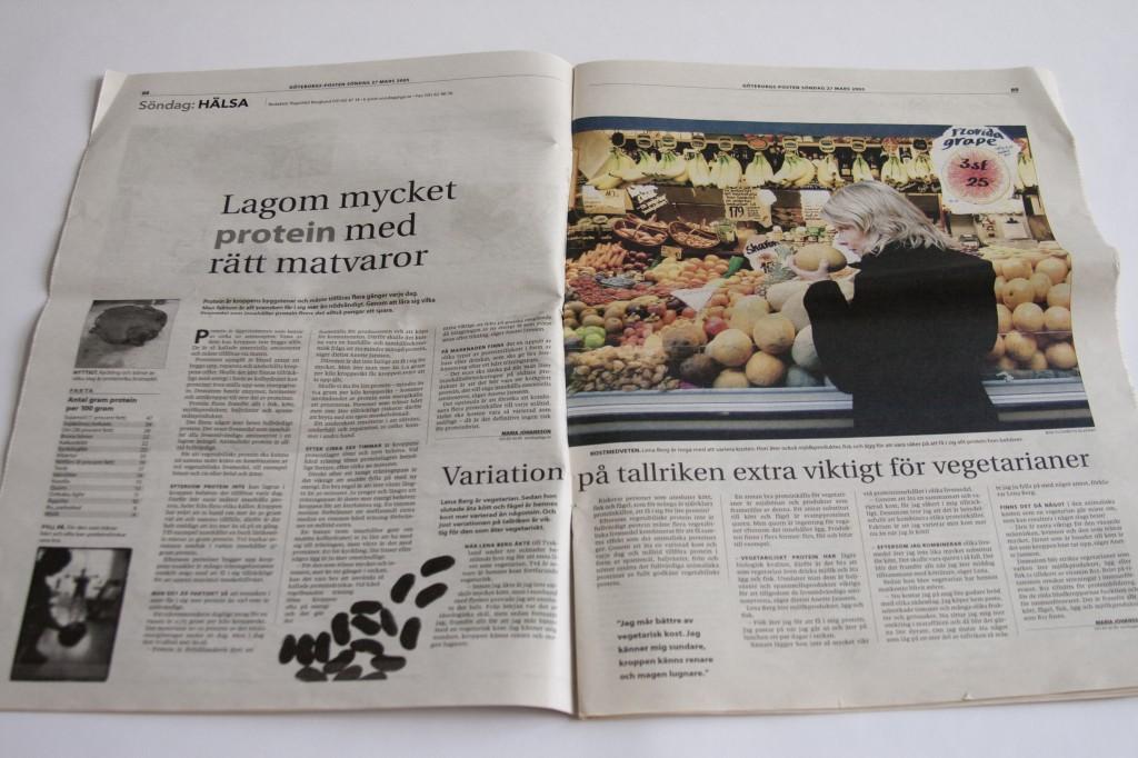 Göteborgsposten protein