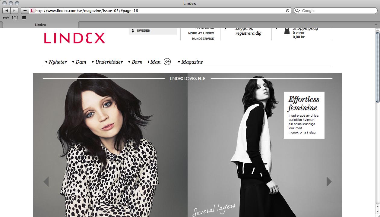 lindex magazine