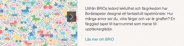 Boråstapeter Brio
